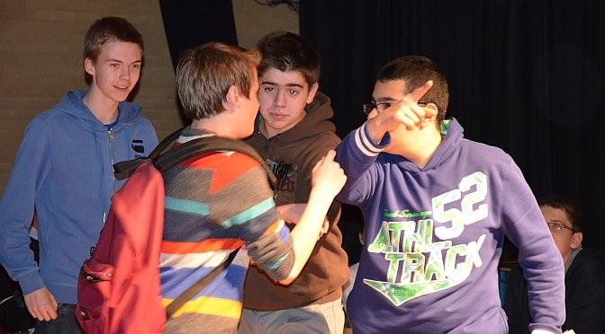 19.11.12 - Das Betriebspraktikum als Theaterspiel präsentiert