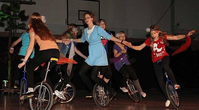2011 - Einräder bei Showtime