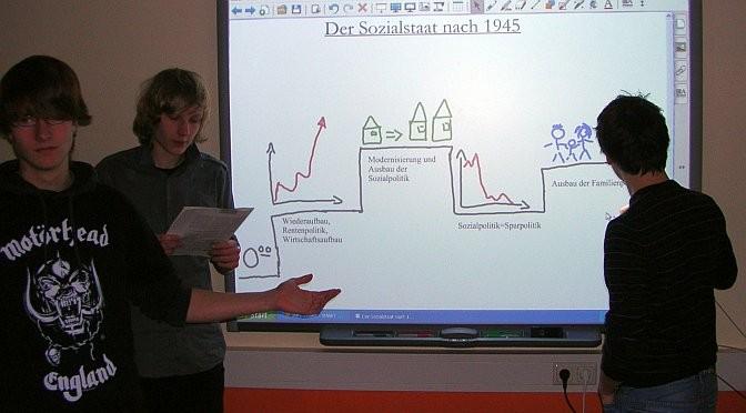 Ein PGW-Referat mit Hilfe des Smartboards