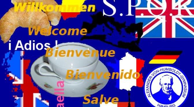 Fremdsprachenunterricht am AvH - Collage
