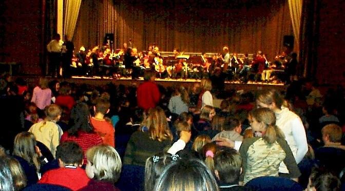 Schülerkonzert des Philharmonischen Staatsorchesters Hamburg
