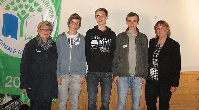 Das AvH erhielt zum 20. Mal die Auszeichnung 'Umweltschule in Europa'