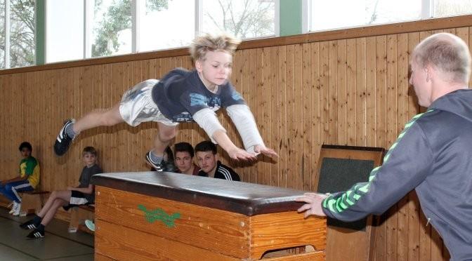 28.02.14 - Bundesjugendspiele Gerätturnen