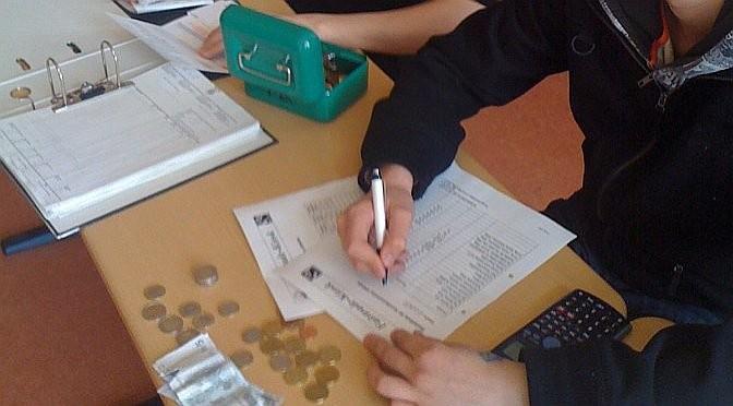 Arbeiten in einer Schülerfirma