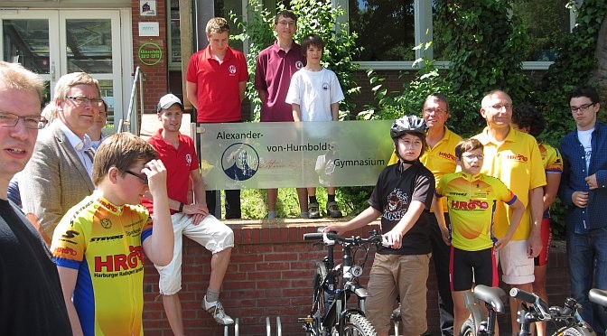Die Fahrrad-AG gewinnt bei der Aktion 'Schoolbike'