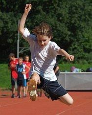 Große Sprünge wagen - das gilt am AvH nicht nur für den Sport, sondern für Beweglichkeit auf allen Feldern