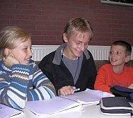 Miteinander und voneinander lernen - wie hier auf diesem Klassensprecherseminar