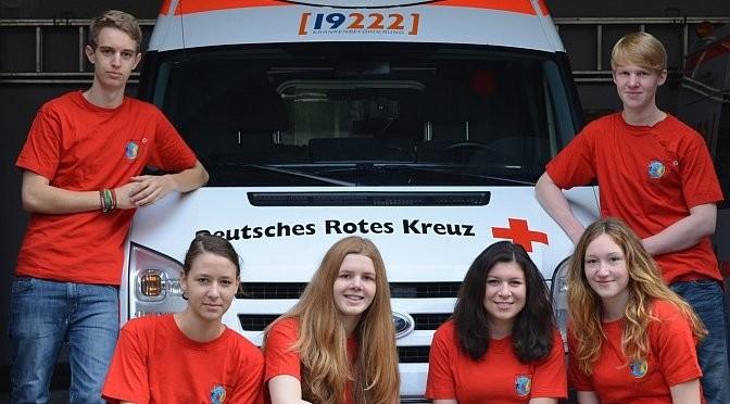 Unser AvH-Schulsanitätsteam 2013-2014