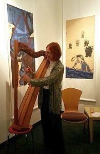 """""""Uns hat bei den Märchentagen besonders gut gefallen, dass die Geschichtenerzählerin die Märchen mit ihrer Harfe begleitet hat"""""""