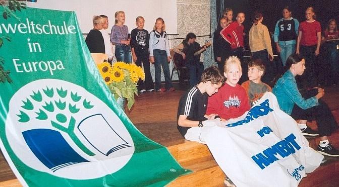 Umweltschulen in Europa – AvH zum 8. Mal erfolgreich dabei.