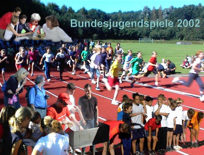 Bundesjugendspiele 2002 - Collage: © 2002 Tr