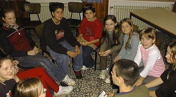 Viertes Trainingslager für Schülervertreter und -vertreterinnen des AvH am 22. und 23. November 2001