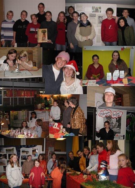 05.12.03 - Weihnachtsfeier - Collage © Mar