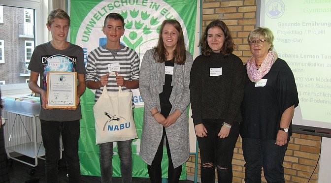 """Das AvH erhielt zum 21. Mal die Auszeichnung """"Umweltschule in Europa"""""""