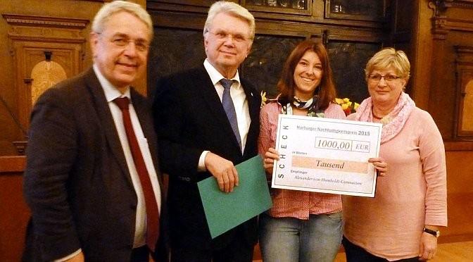Gewinn des 3. Harburger Nachhaltigkeitspreises