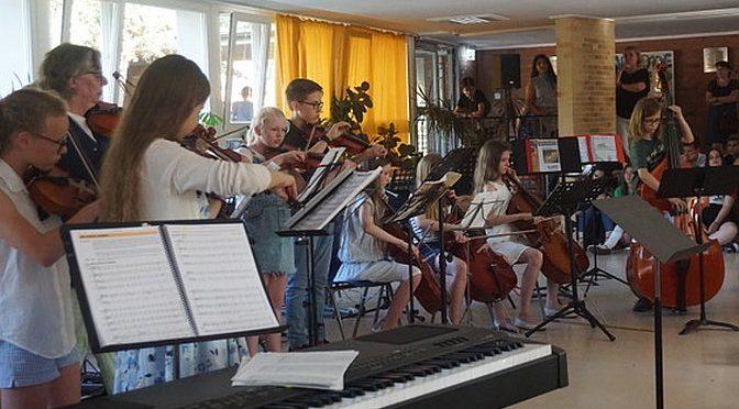 Unser Sommerkonzert der 6. Klassen