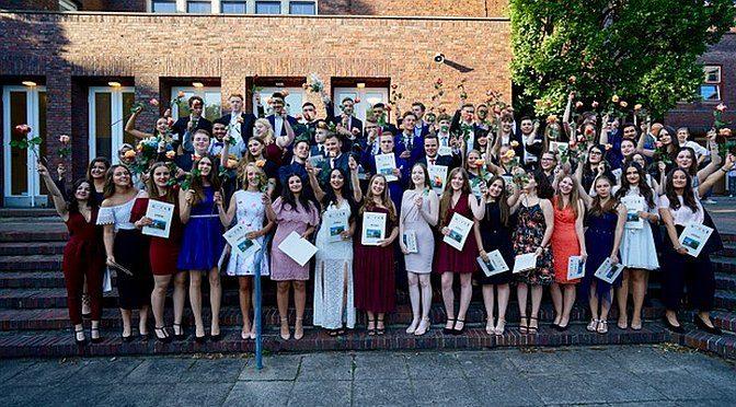 Bilder von der Abiturfeier 2018 in der Friedrich-Ebert-Halle