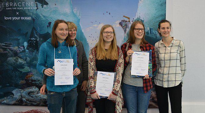 Erfolg beim Meereswettbewerb der Deutschen Meeresstiftung