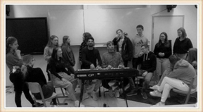 Musikkurs S3 auf den Spuren von Claude Debussy
