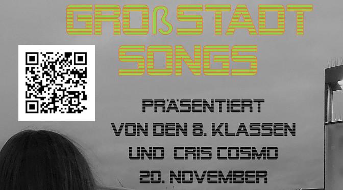 Live am Freitag, 20.11.20 um 19 Uhr auf Youtube